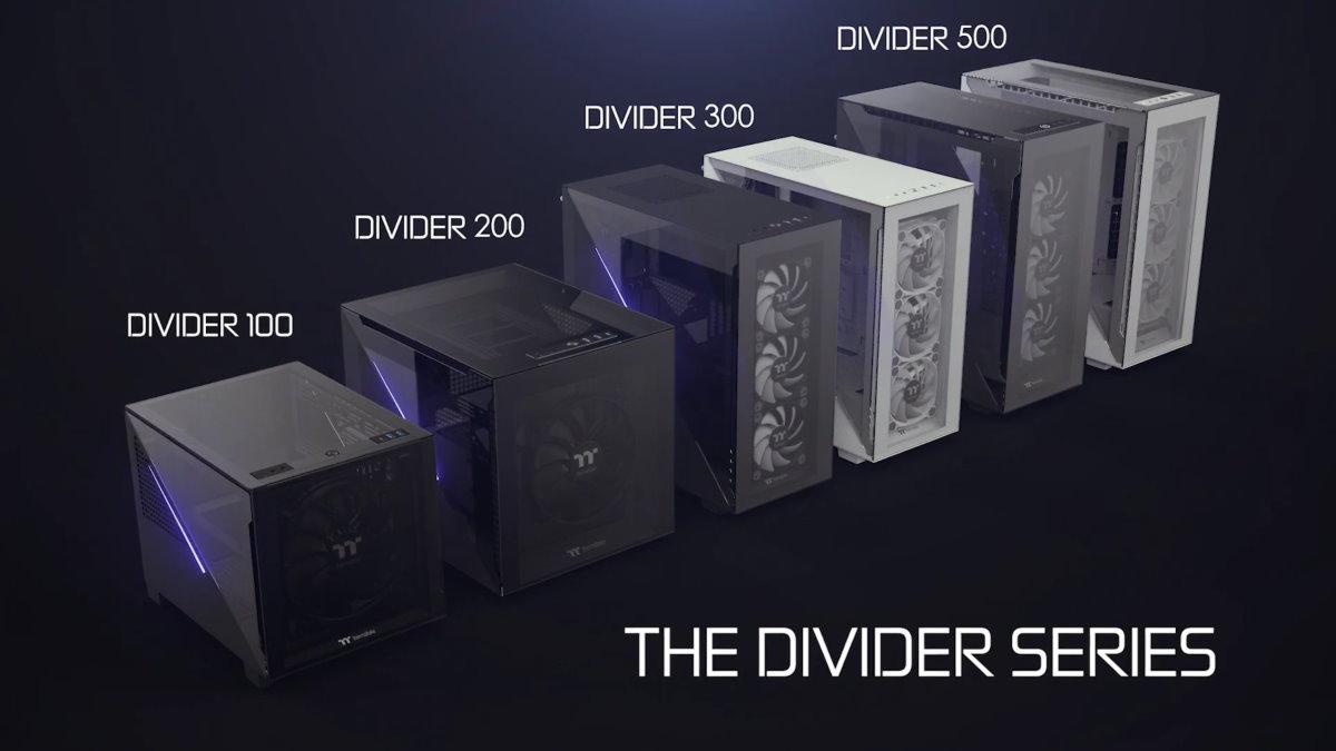 Divider TG 系列一覽圖。