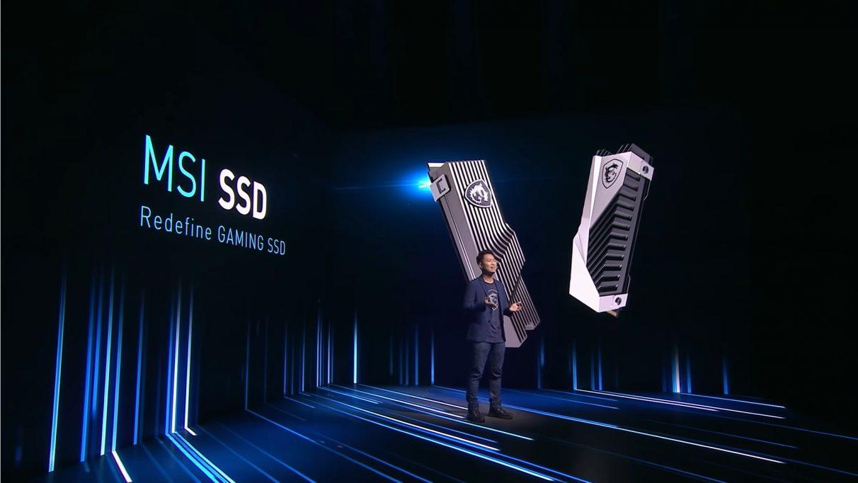 MSI 首次推出 SSD。