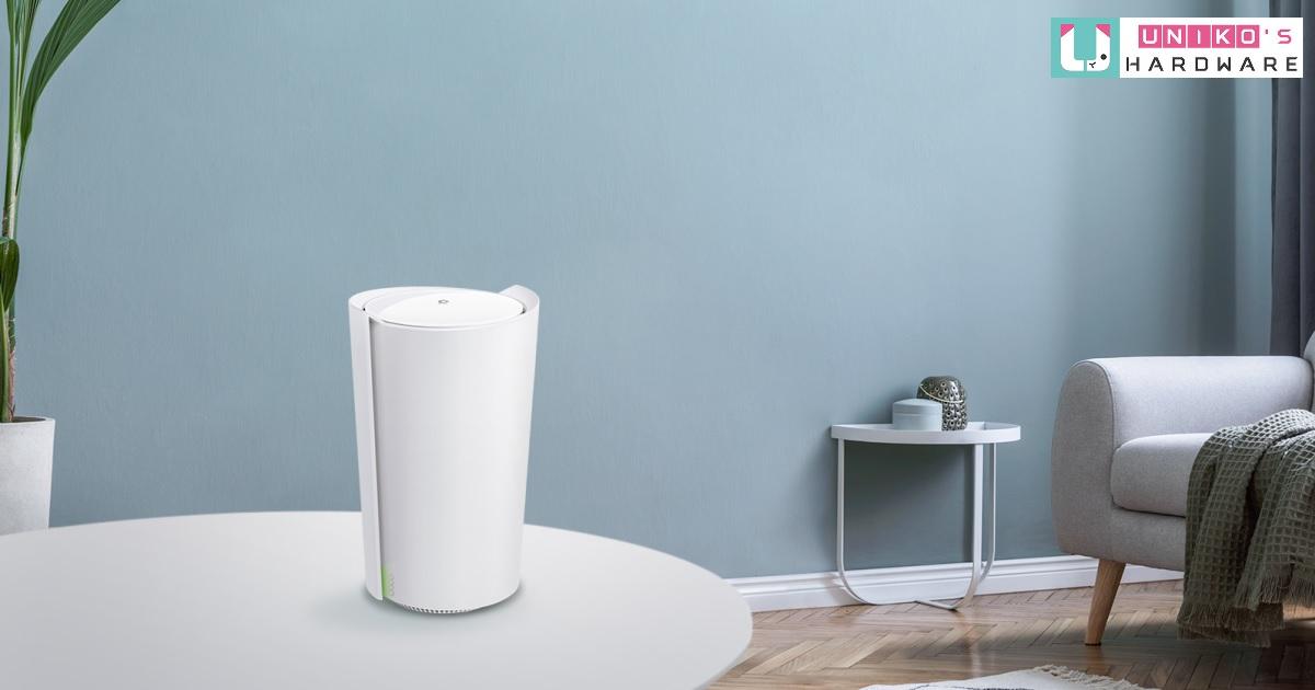 最聰明的 Mesh Wi-Fi~ TP-Link 推出具備 AI 人工智慧的旗艦級產品 Deco X90