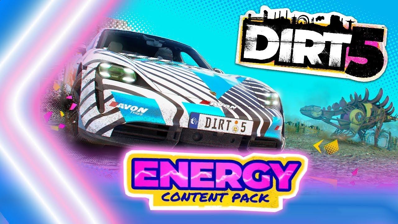 DIRT 5 (大地長征 5) 的 Energy Content Pack。