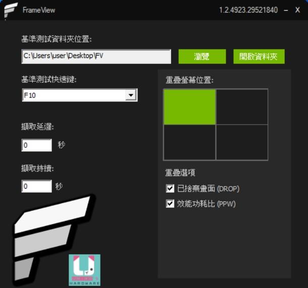 獨家繁體中文介面,精美 UH LOGO。