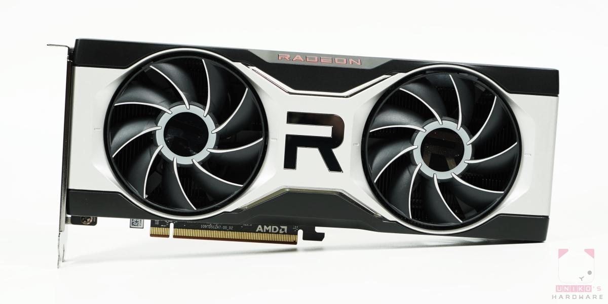 Radeon RX 6700 XT 正面。