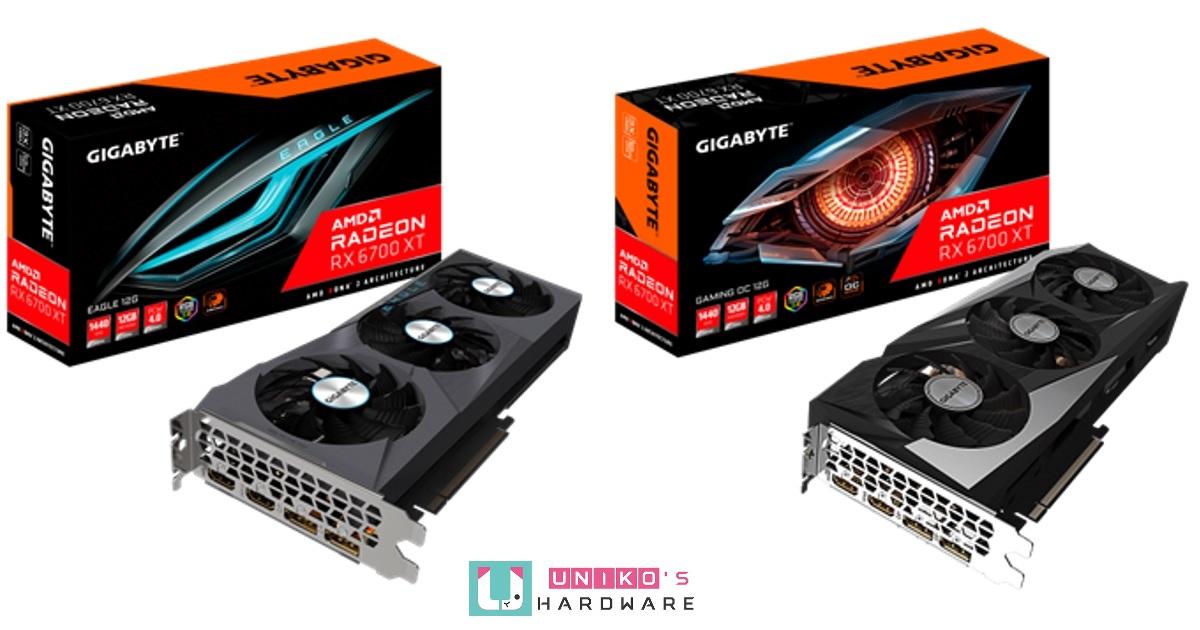 風之力加持散熱能力~ Gigabyte Radeon RX 6700 XT 系列顯示卡曝光