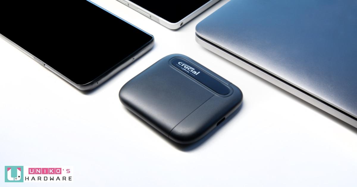 優異性能與攜帶便利性~ Crucial 新推出 X6 外接固態硬碟