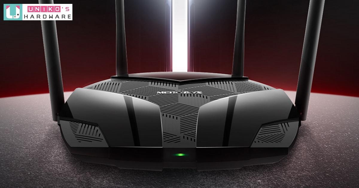 高 CP 值 Wi-Fi 6 路由器~ Mercusys 新推出 MR70X AX1800 無線雙頻路由器