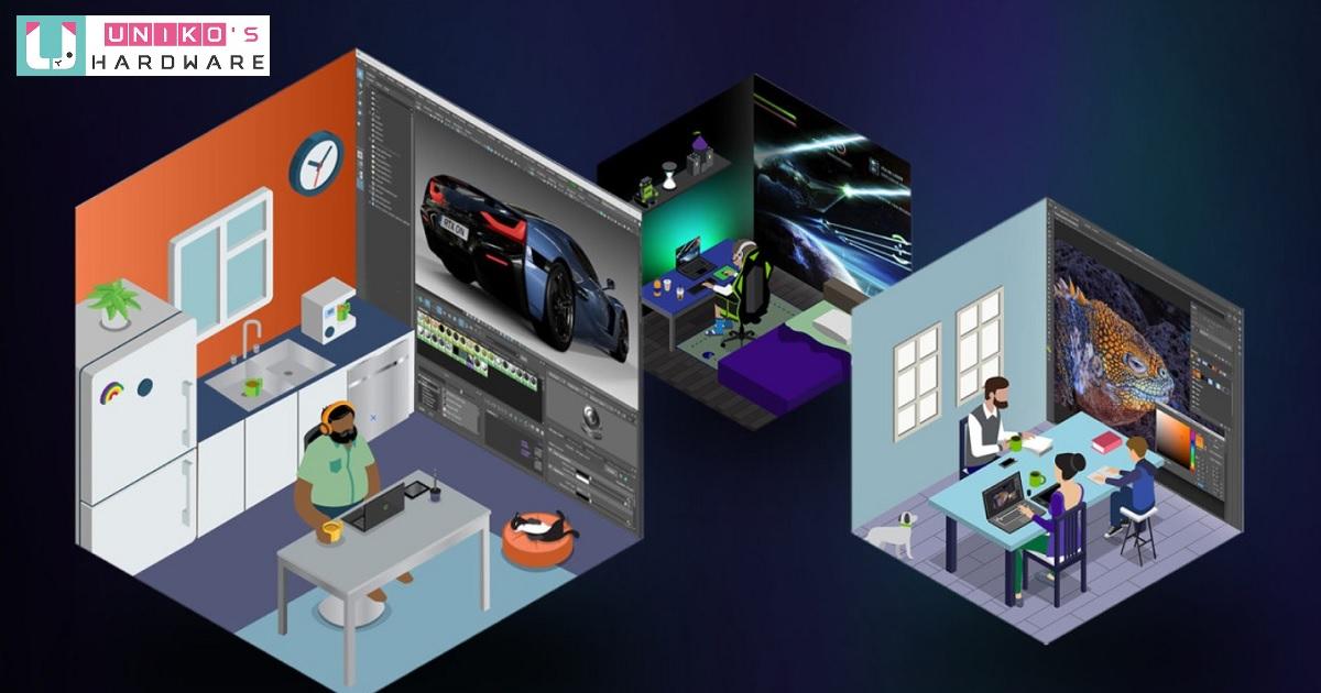 為創作提升效率~ NVIDIA Studio 二月驅動程式提高 3D 轉譯引擎的支援能力