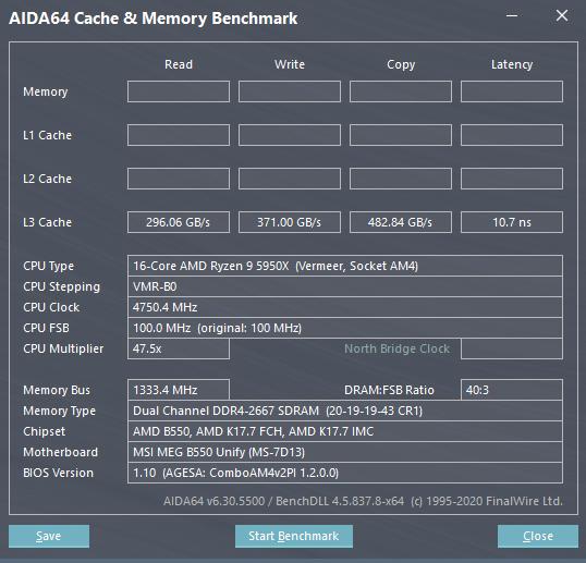 更新 BIOS 前,AGESA COMBO PI V2 1.2.0.0 的 L3 快取頻寬較低。