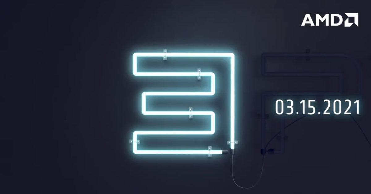 AMD 3rd EPYC 處理器線上發表會將於 3/15 23:00 舉行!