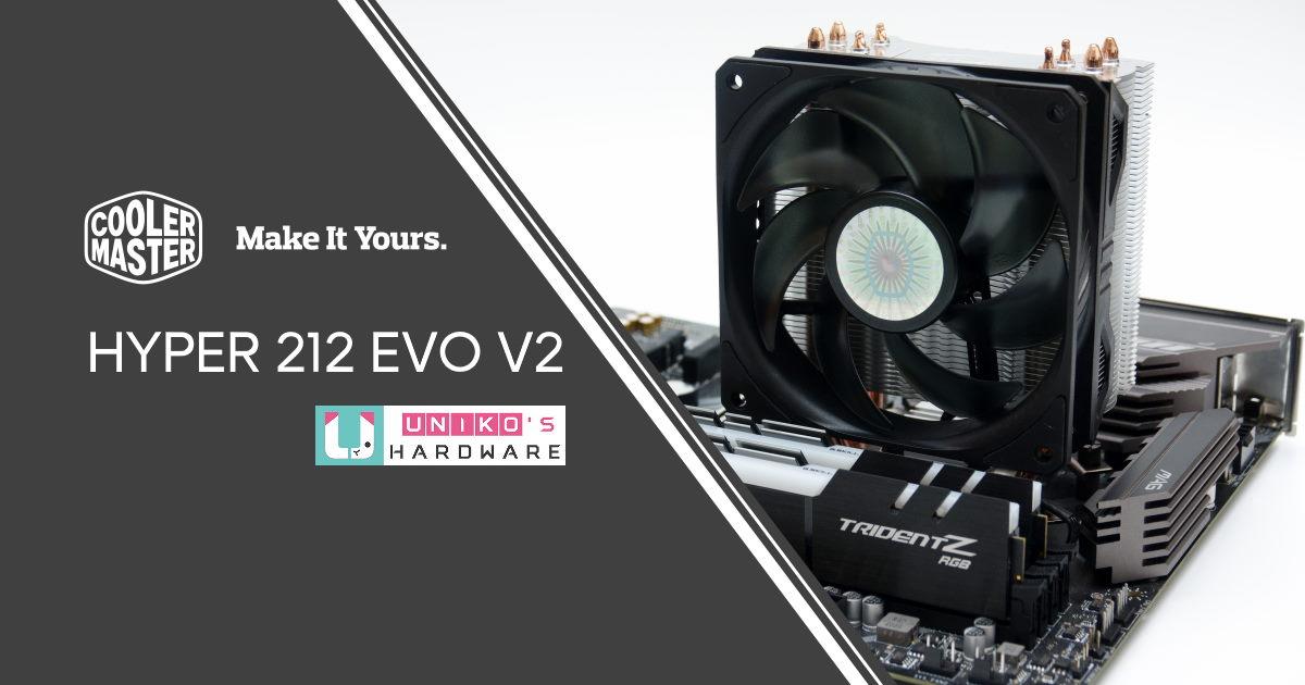經典再進化!Cooler Master HYPER 212 EVO V2 開箱測試。