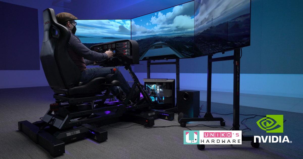 用 NVIDIA GeForce RTX 30 系列顯卡升級電腦, 打造一台專屬微軟模擬飛行的電腦吧!