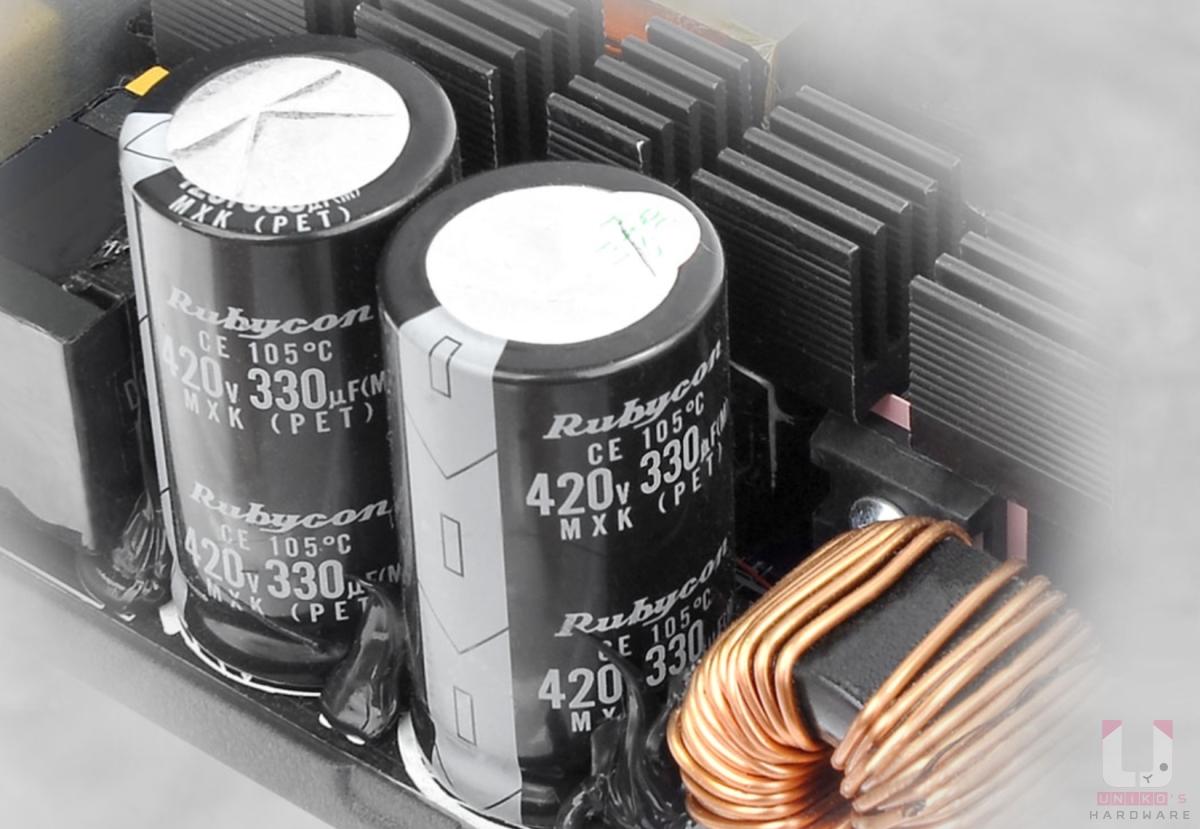 採用 105˚C / 221˚F 全日係電容,延長產品使用壽命和穩定性。