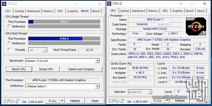 CPU-Z 相關資料。