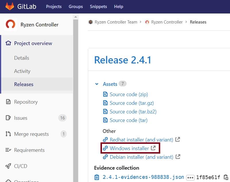 按此開啟官方下載頁面,在最新的版本號處,按 Windows installer 下載。