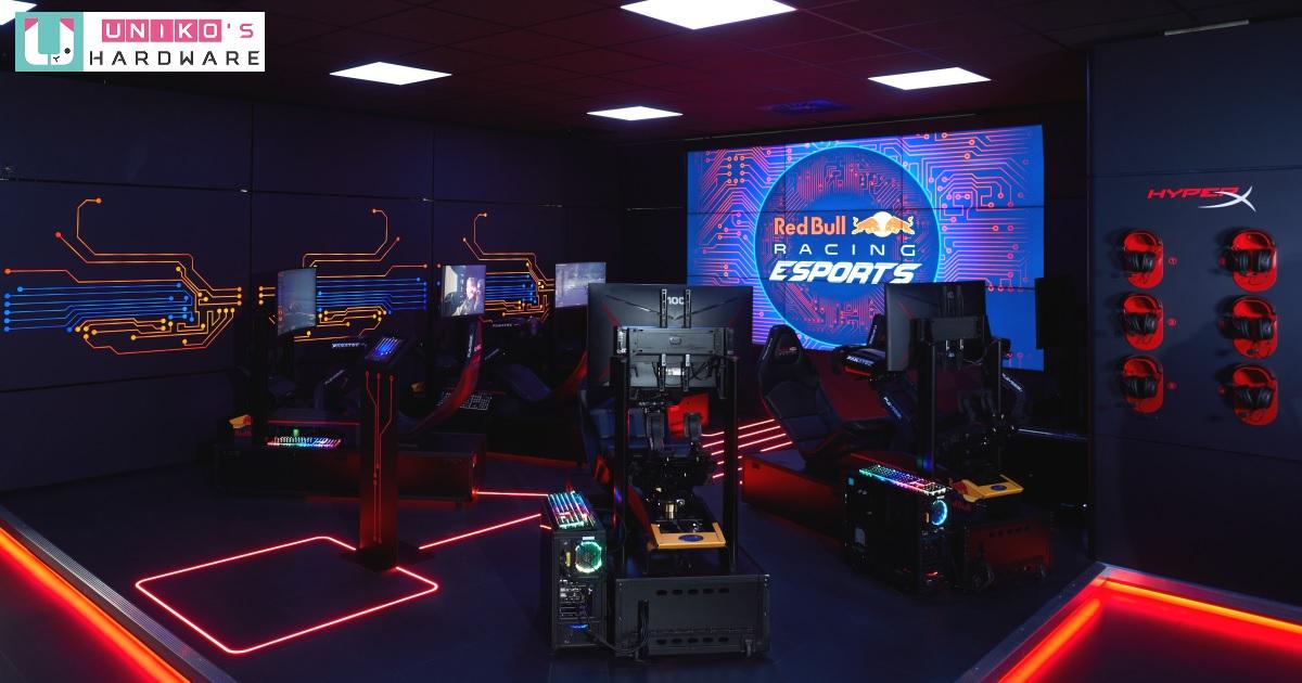HyperX 優質周邊深獲肯定,與 Red Bull 賽車電競戰隊進行合作