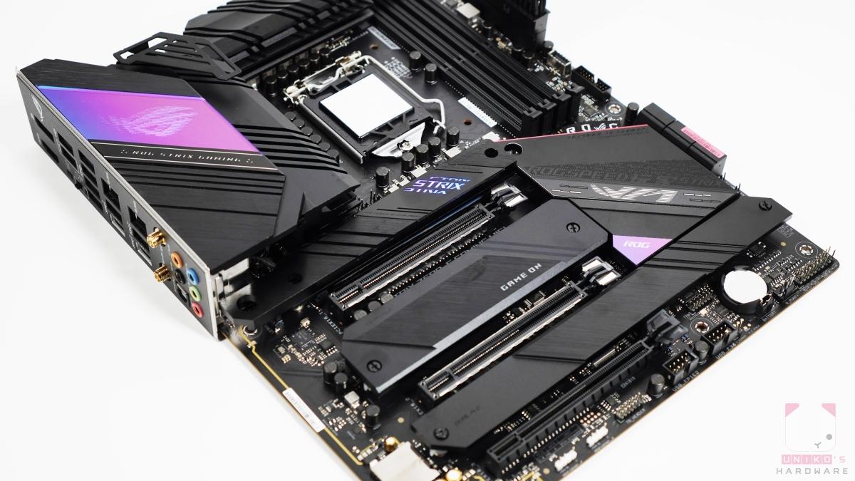 ROG STRIX Z590-E GAMING WIFI 內外兼具。
