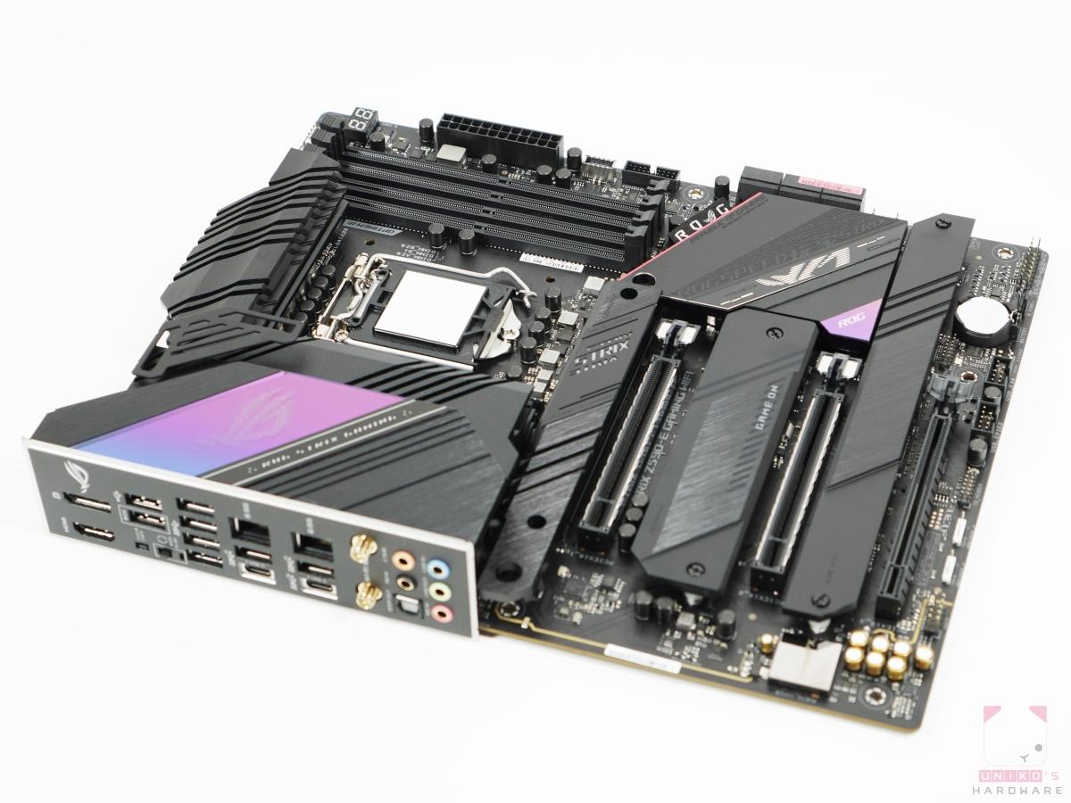 Intel Socket LGA1200 腳位。