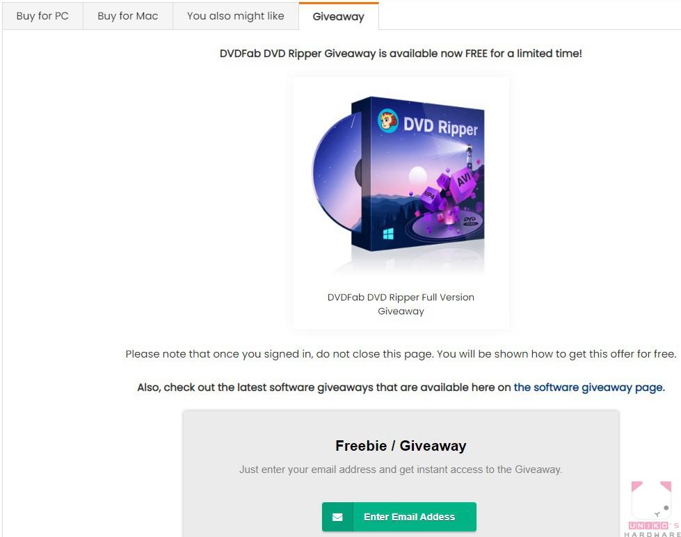 點選 Enter Email Addess。
