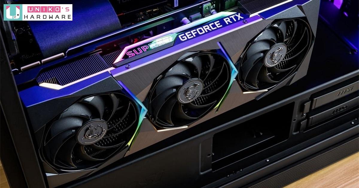 NVIDIA RTX 3080 Ti 非公版本外型曝光!MSI GeForce RTX 3080 Ti SUPRIM X 實體照片流出