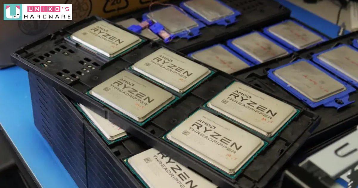 傳聞 64 核心的 AMD Ryzen Threadripper 5990X 處理器可能在 9 月上市?!