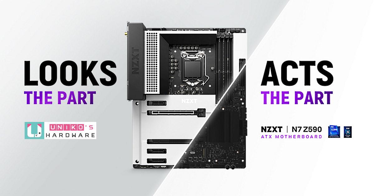 簡約時尚.完美契合~ NZXT 發表全新 N7 Z590 主機板