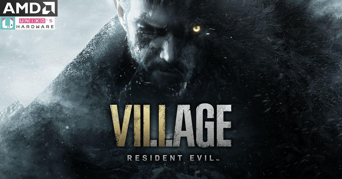 AMD Radeon 為 Resident Evil Village 提供顯示驅動支援,助玩家征服黑暗地域