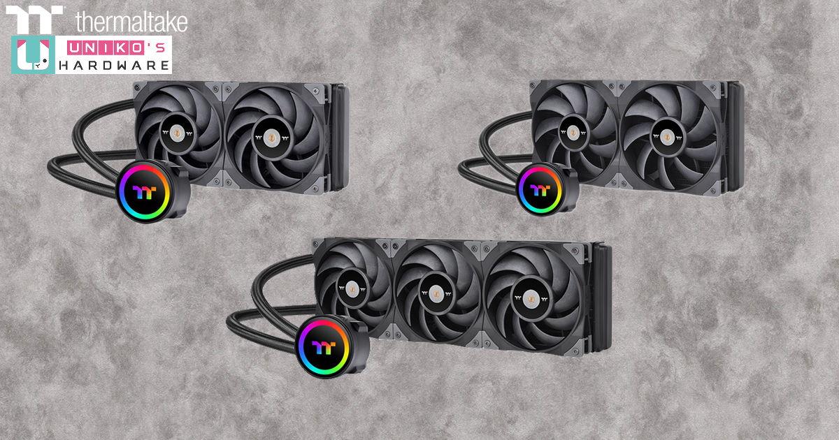 絕佳散熱與靜音平衡點~ Thermaltake 鋼影 TOUGHLIQUID ARGB Sync 系列 AIO 水冷正式開賣
