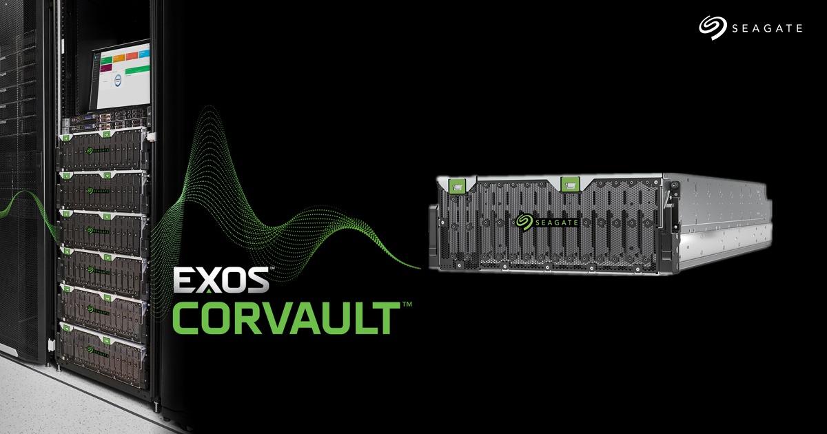 環保前瞻理念~ Seagate 推出 Exos CORVAULT 硬體式自我修復區塊儲存系統