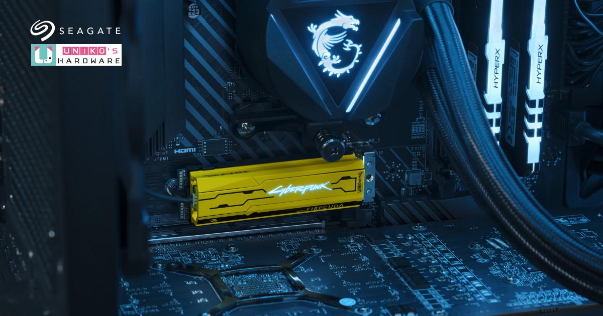 帥氣 Cyberpunk 裝甲,Seagate 推出 FireCuda 520 SSD《電馭叛客2077》限定版
