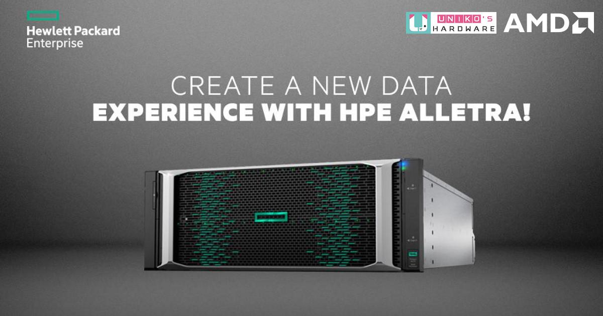AMD EPYC 處理器為新一代 HPE Alletra 6000 儲存解決方案挹注效能
