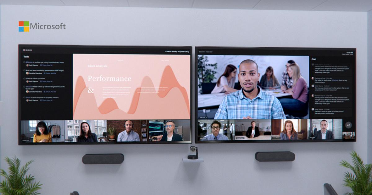微軟升級 Microsoft Teams 會議室及推出 Microsoft Viva 全新功能