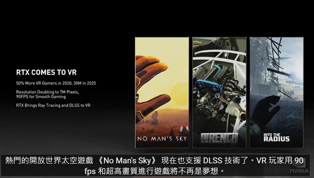 《No Man's Sky》將支援 DLSS 和光追技術。