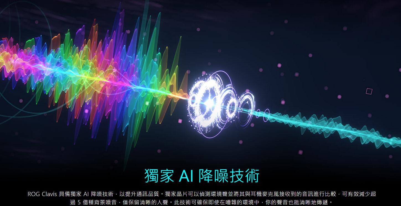 獨家 AI 降噪技術,保留清晰人聲,去除背景音噪音。