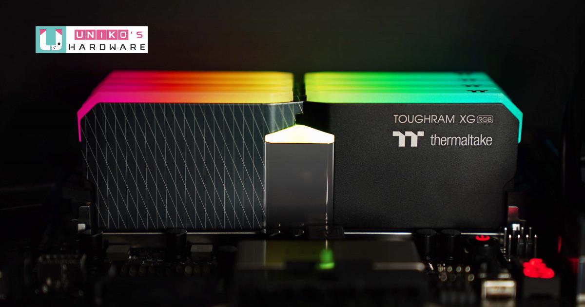 2021 Thermaltake 線上電腦展,鋼影 TOUGHRAM XG RGB 系列 DDR4 滿足你對大的渴望