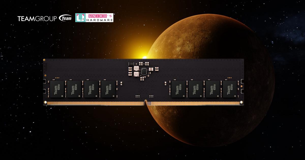 領先全球,TEAMGROUP ELITE U-DIMM DDR5 震撼上市