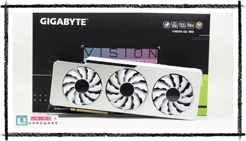 GIGABYTE GeForce RTX 3080 Ti VISION OC 12G 顯示卡評測開箱