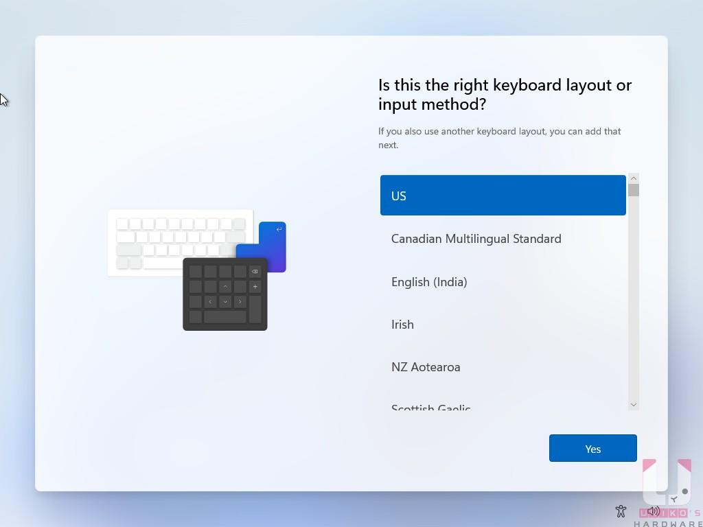 重新設計過的初始化設定介面。