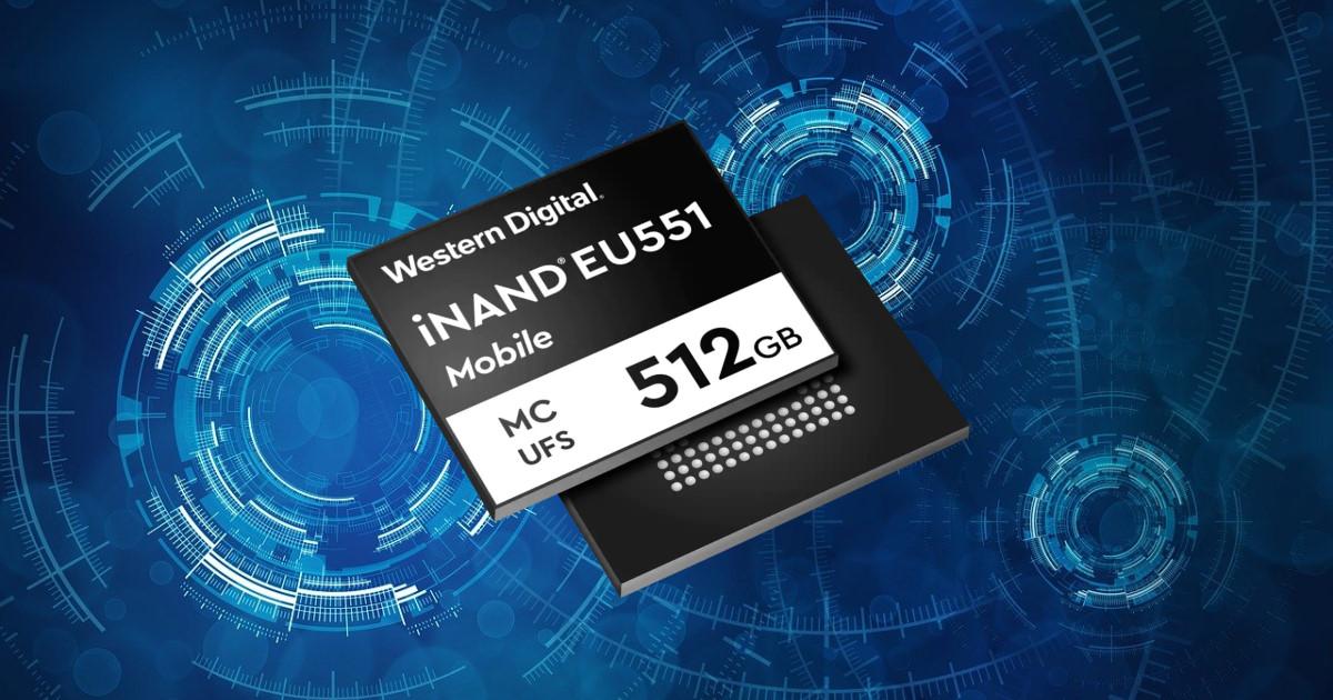 Western Digital 全新 iNAND MC EU551 UFS 3.1,提升新一代 5G 智慧型手機使用體驗