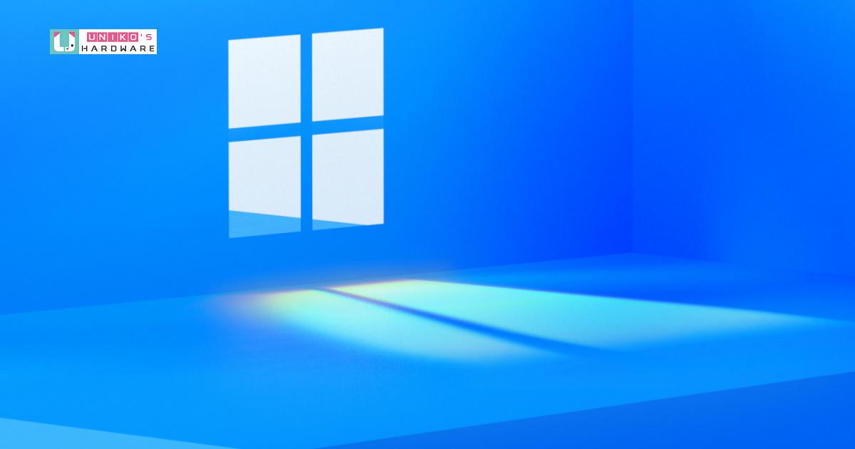 傳聞中的 Windows 11 開發洩漏版組建 21996 簡短體驗心得