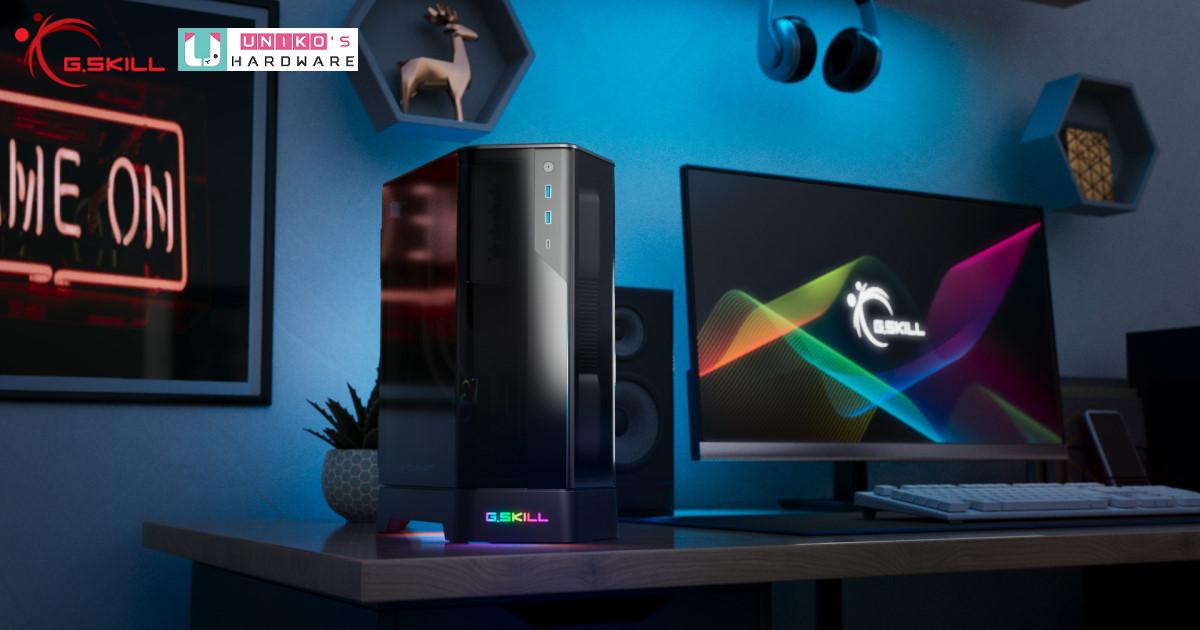 G.SKILL 芝奇新推出 Z5i Mini-ITX 獨特雙門造型機殼,採雙門分艙設計