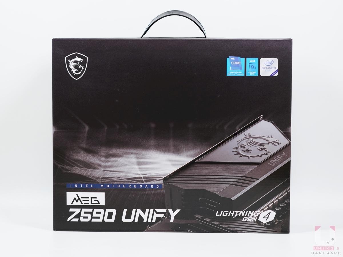 Z590 UNIFY 包裝正面