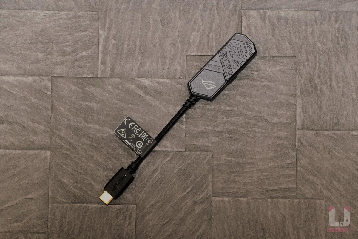 ROG Clavis 外接式 USB-C 音效卡