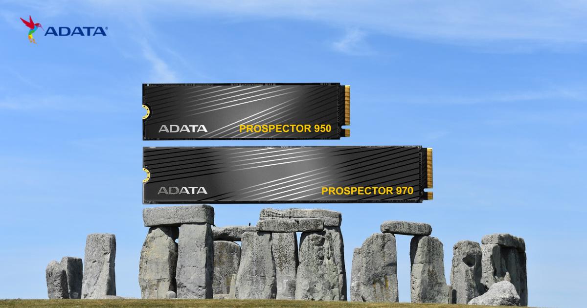 ADATA 威剛科技推出專為 Chia 奇亞幣打造的 PROSPECTOR 系列超耐用 SSD
