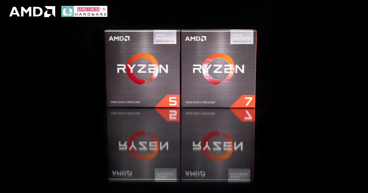 國外 AMD Ryzen 5000G 系列 APU 第一批零售價被調漲上市