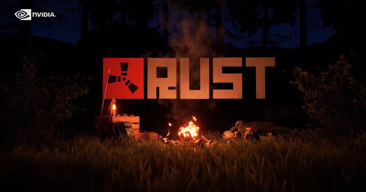Steam 平台上十大熱門遊戲之一的《Rust》於今天開始支援 NVIDIA DLSS