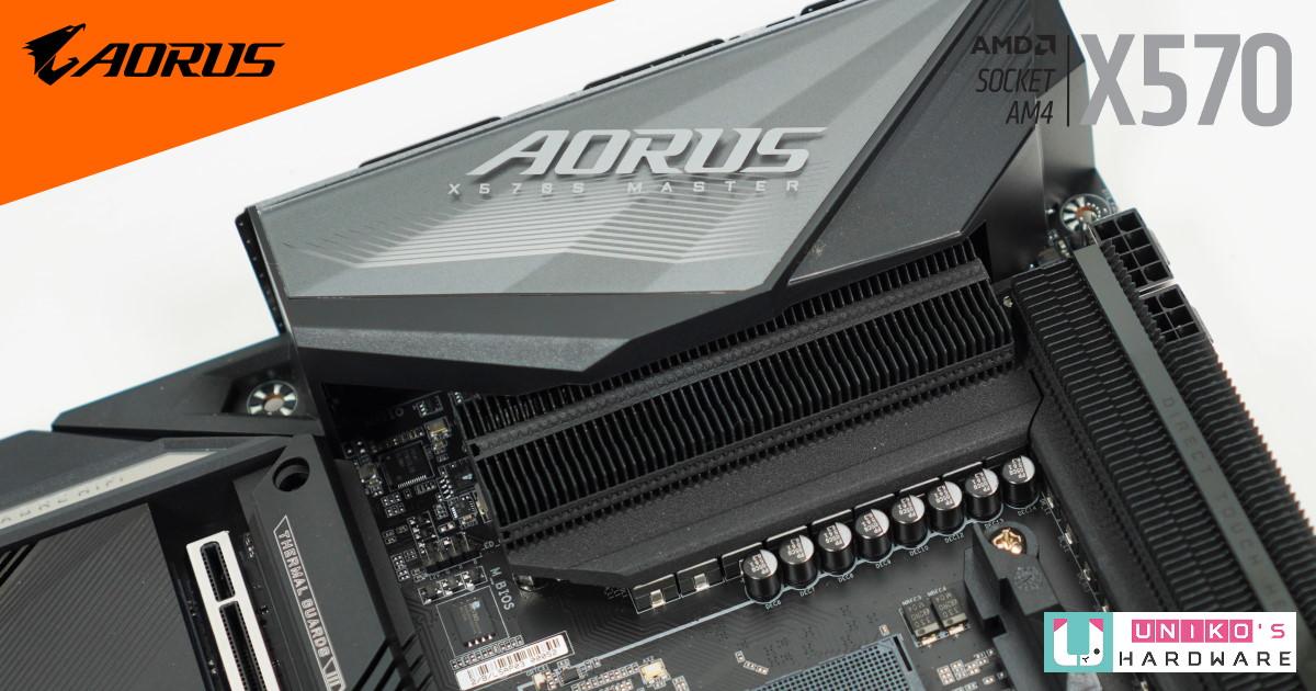 16 相供電設計,GIGABYTE X570S AORUS MASTER 電競主機板評測開箱