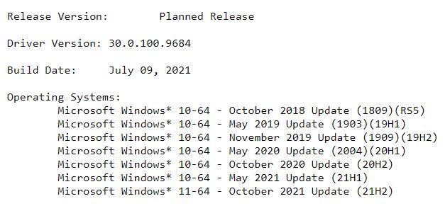 來源 Intel 網站