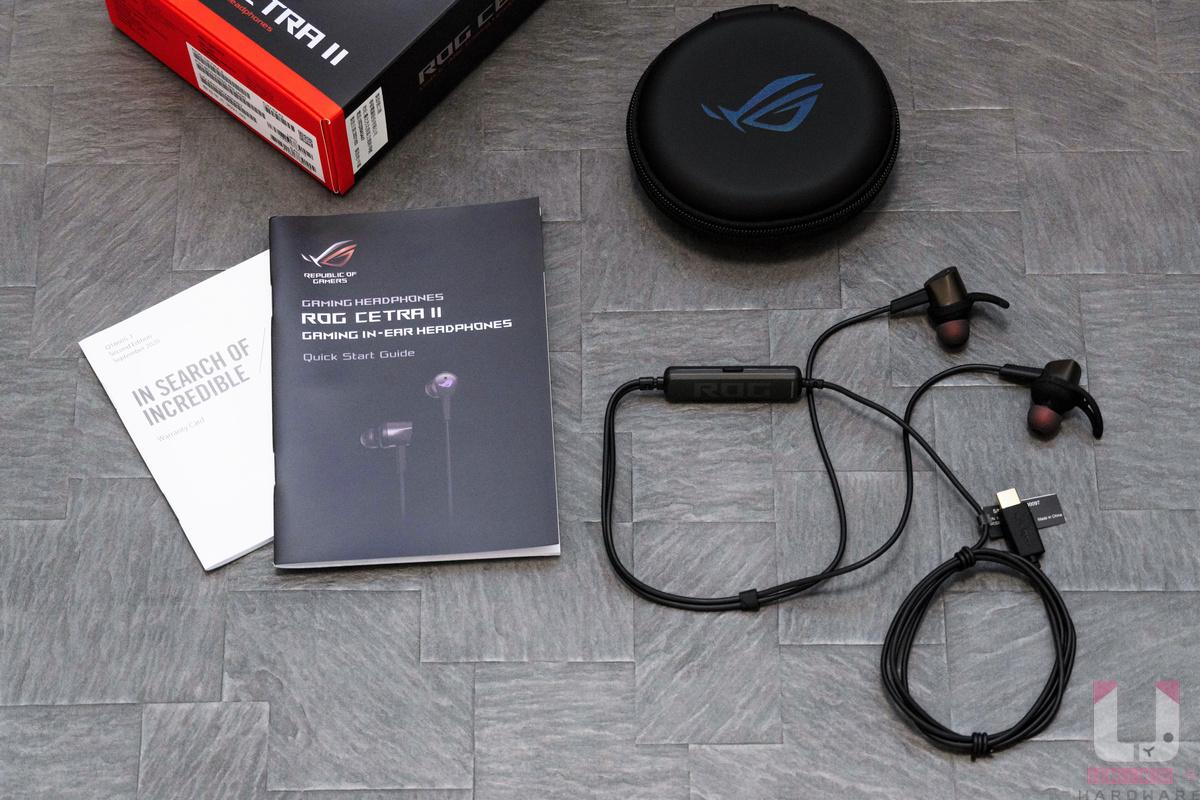 耳機、收納包、說明書