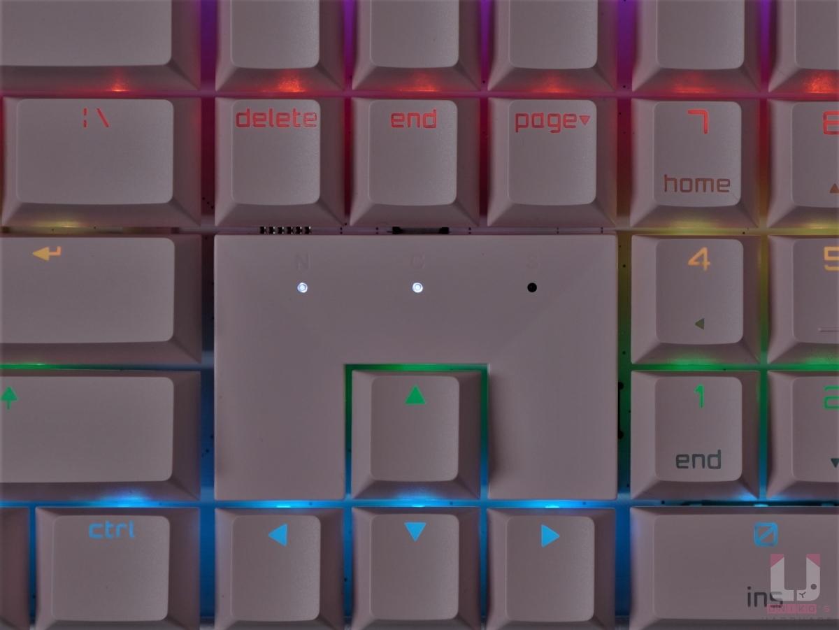 鍵盤指示燈