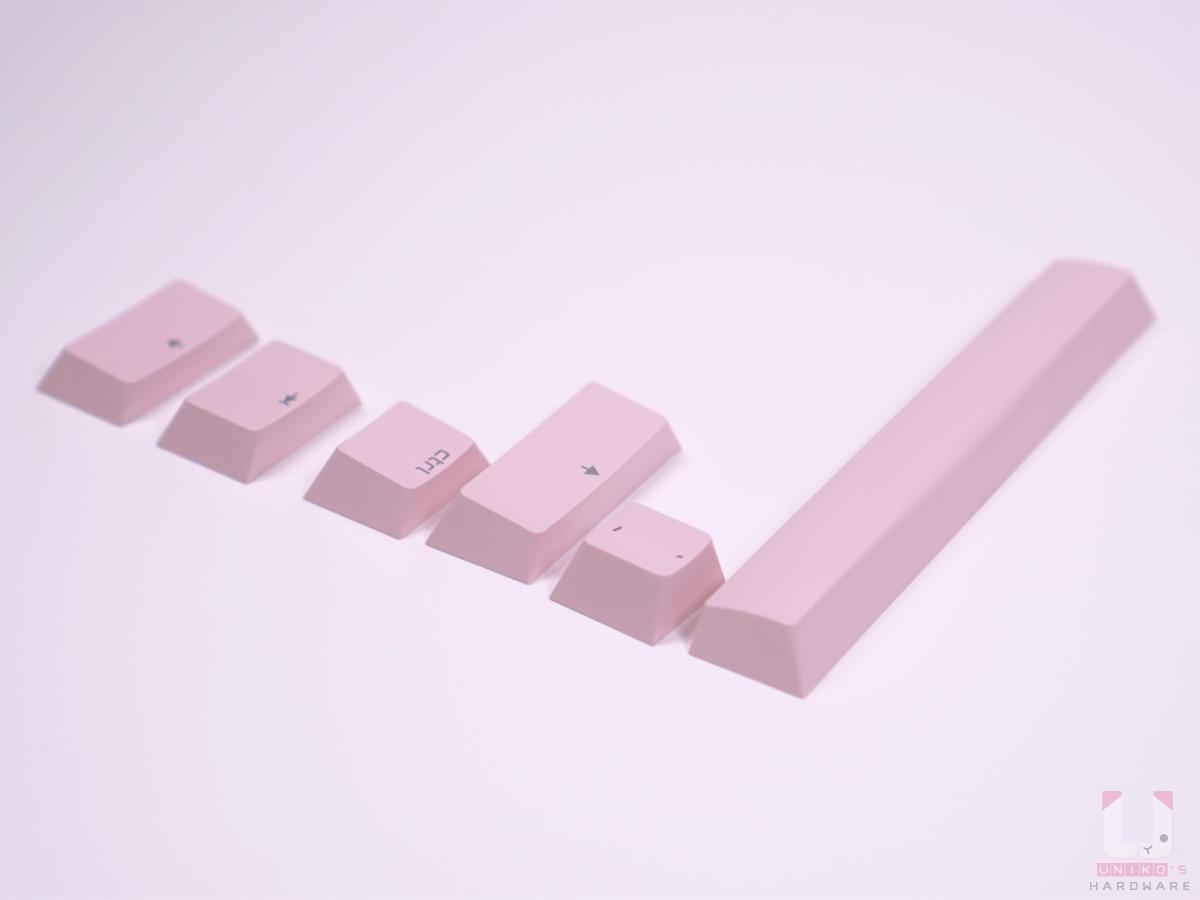 Cherry MX Board 3.0S RGB 粉色鍵帽排排站