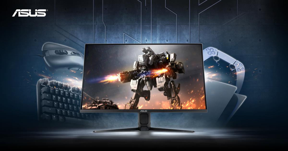 採用 28 吋 4K Fast IPS 面板急速低延遲,ASUS TUF Gaming VG28UQL1A 電競螢幕新上市